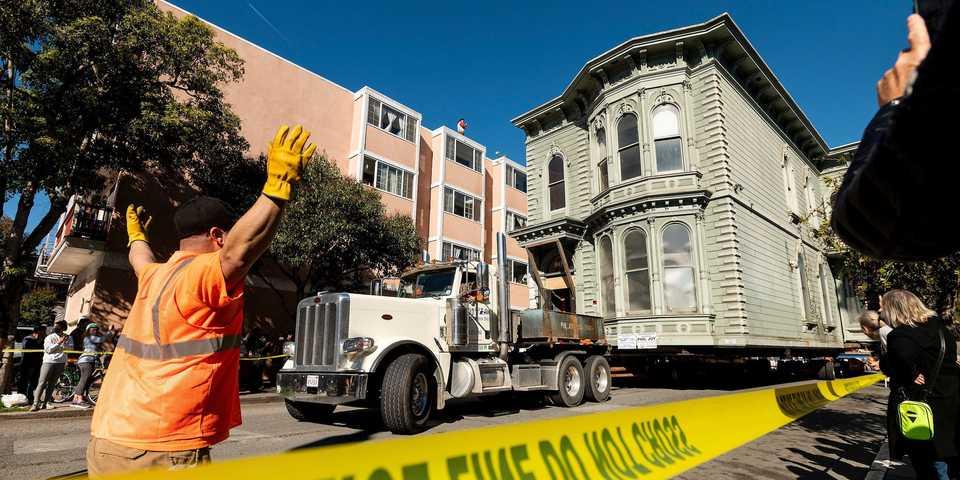 かかった費用は4200万円! サンフランシスコで築139年の家がお引っ越し