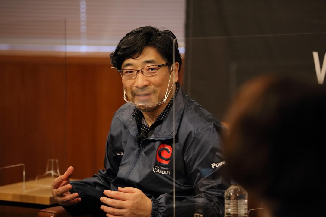 深田氏のポートレイト