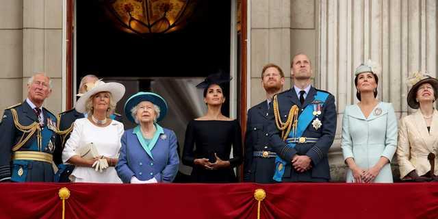 イギリスの王室メンバー。