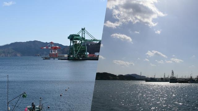 岩手県釜石市と宮城県気仙沼市から、いまの海の姿をお伝えします。