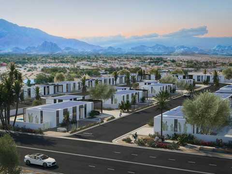 カリフォルニアの3Dプリント住宅村
