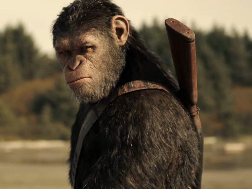 『猿の惑星:聖戦記』
