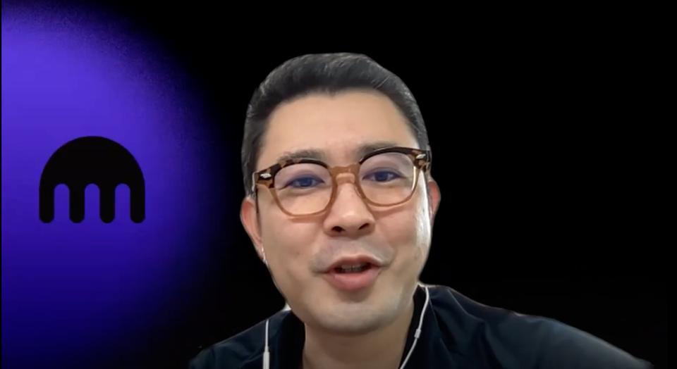 仮想通貨取引所「クラーケン・ジャパン」を運営するペイワードアジアCEOの千野剛司氏。