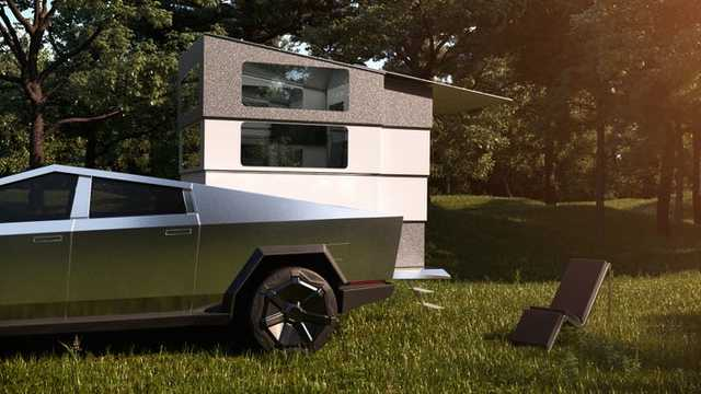 サイバーランダーは、テスラのサイバートラックに搭載する。