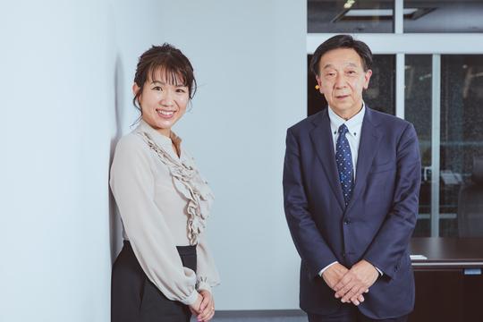 豊田氏と中村氏
