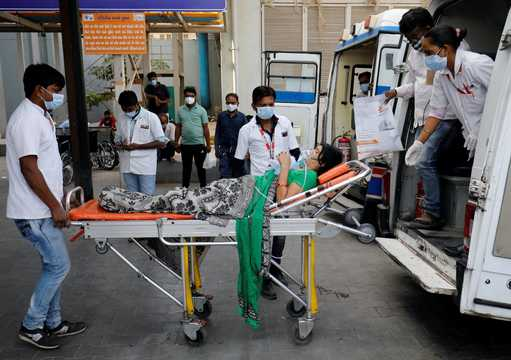 インドのCOVID-19患者数が世界最悪になった。