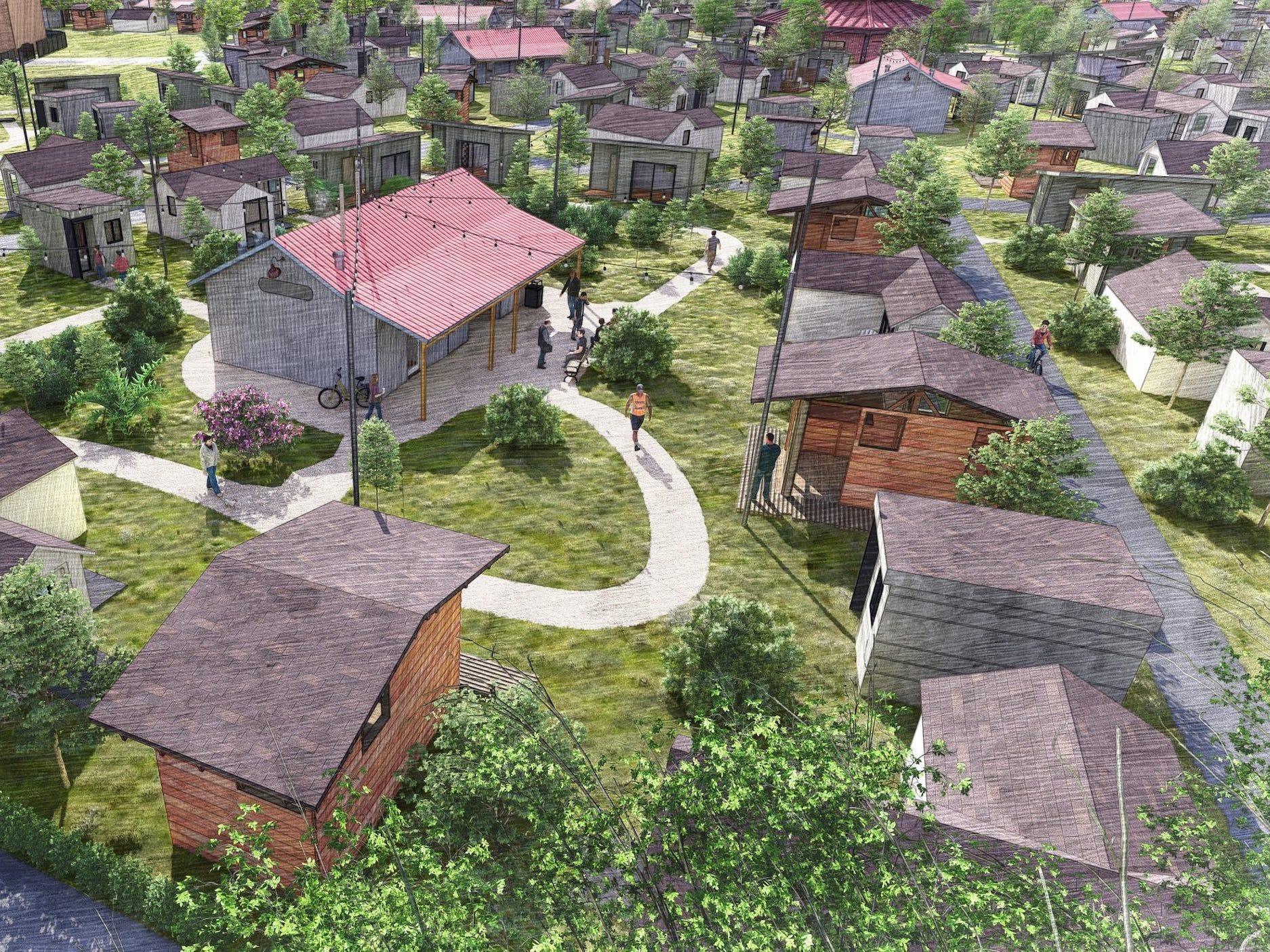 「社会システム」や「コミュニティ」を組み込んだタイニーホーム・ビレッジ…ホームレス問題の解決策は「家族」を再構築すること