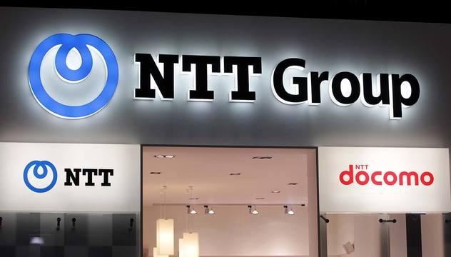 NTTロゴとNTTドコモロゴ