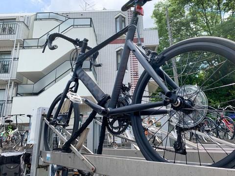 AirTagと自転車