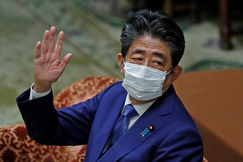 安倍元首相の写真