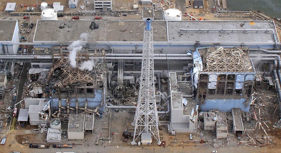 福島第一原子力発電所の写真