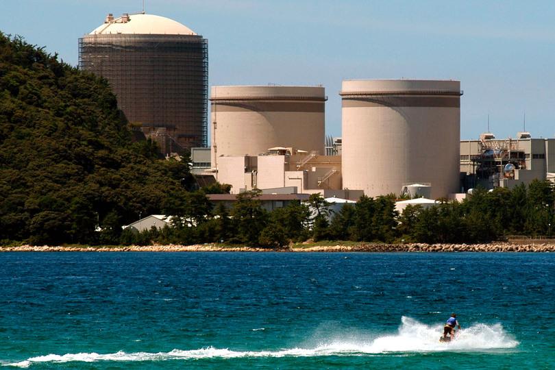 美浜原発の写真