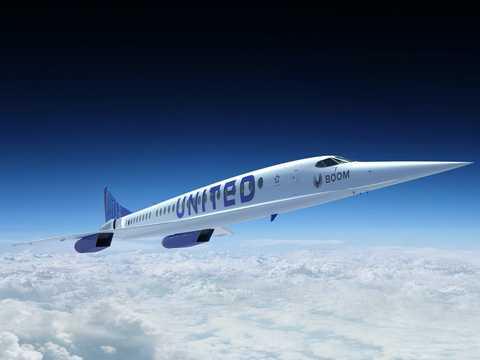ユナイテッド航空が発注した超音速旅客機