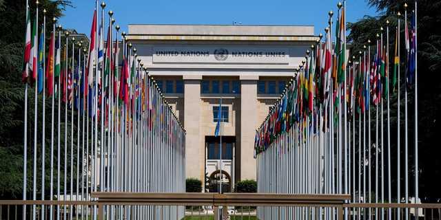 スイスにある国連ジュネーブ事務局。