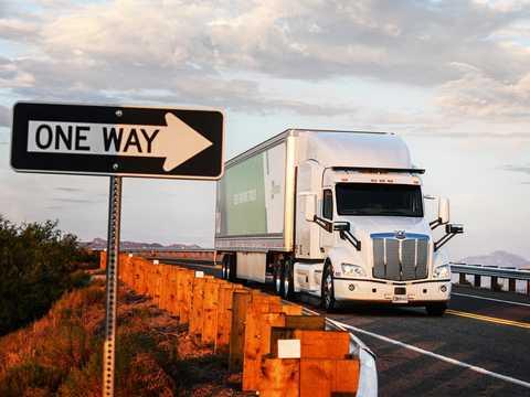 Autonomous-truck companies like TuSimple are starting to go public.