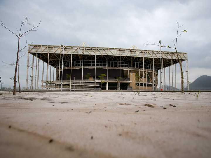 リオのアクアティクス・センター。