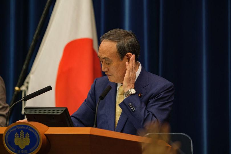 菅義偉首相(2021年7月8日)