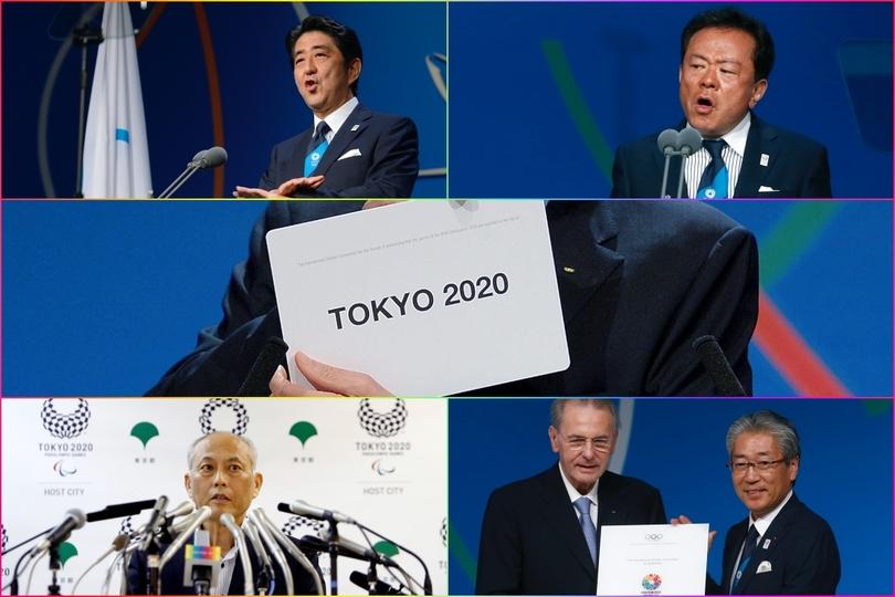 2013年9月、IOC総会での最後の招致プレゼンには安倍首相、猪瀬都知事が登壇。その後、猪瀬知事は金銭問題などで失脚。舛添要一氏が都知事に就いた。