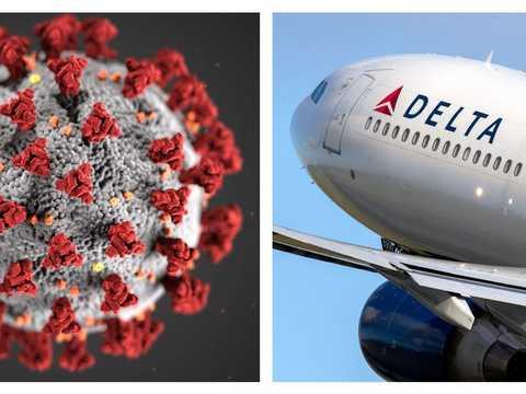 デルタ航空は、新型コロナウイルス変異株のネーミングを嘆いている。