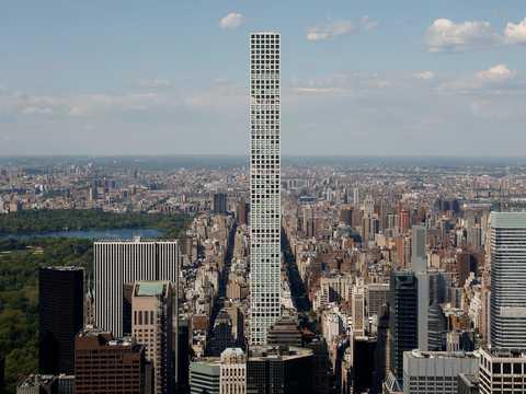 The 432 Park Avenue building.