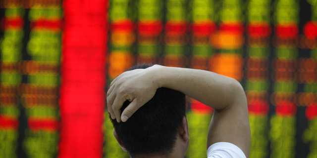 中国株は2月以降、急激に下落している。