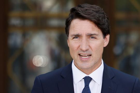 カナダ第23代首相のジャスティン・トルドー氏。