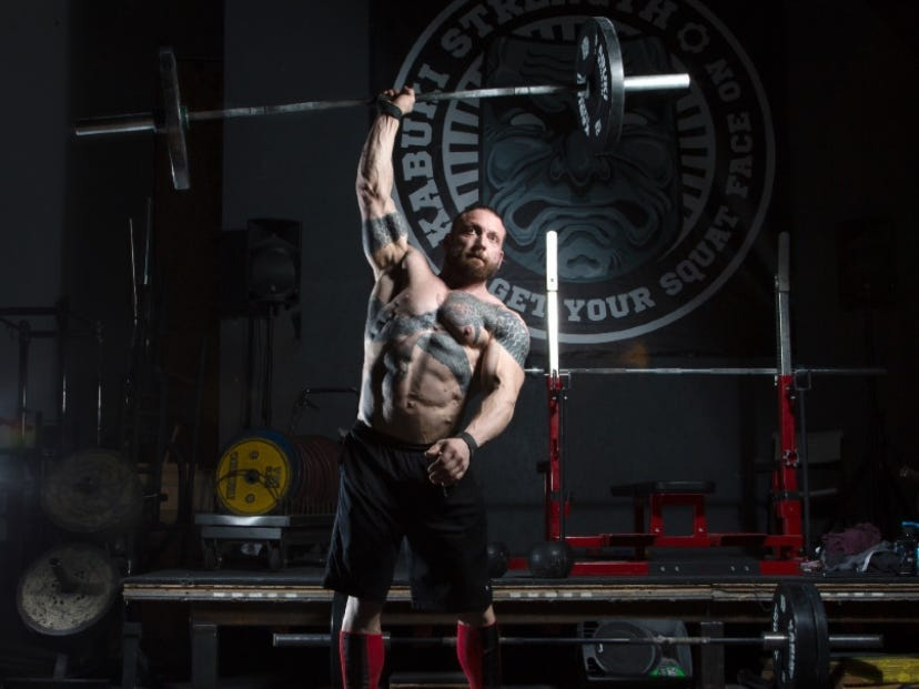 Chris Duffin, a world record holding power lifter, said strength training beginners can make quick progress on muscle building, with the right strategy.