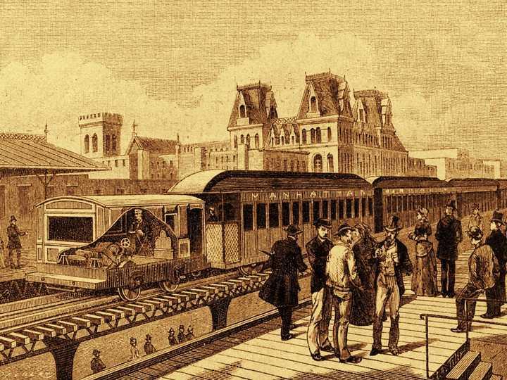 最初の電車
