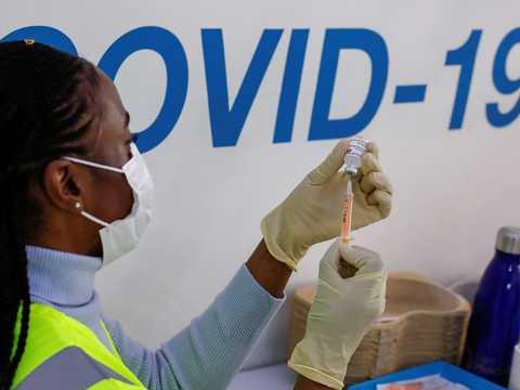 新型コロナウイルスの変異株「ミュー株」は、アメリカの50州のうち48州で確認されている。