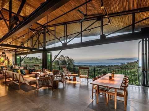 A Starbucks location inside the company's Costa Rican coffee farm.