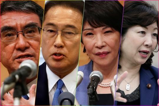 自民党総裁選は4人が立候補した。