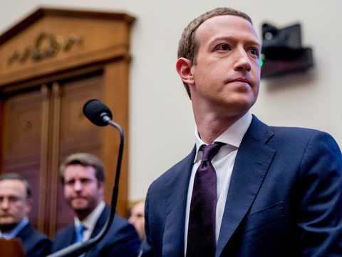 フェイスブックのマーク・ザッカーバーグCEO。