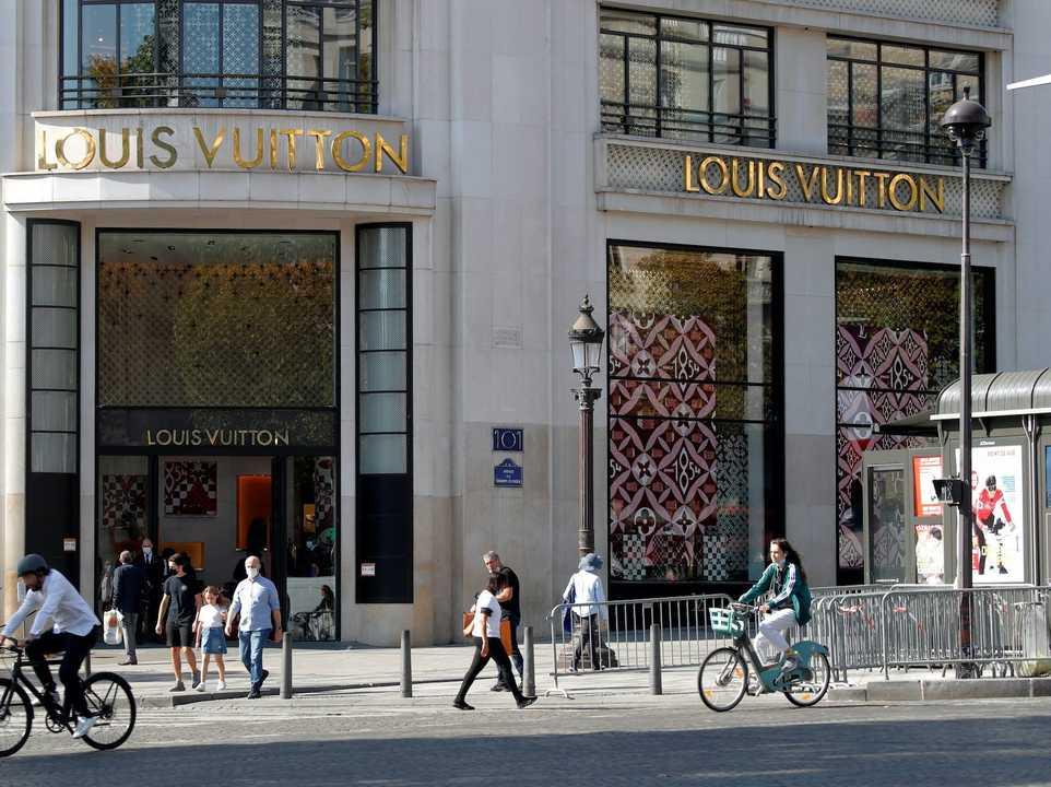 22. LVMH Moët Hennessy Louis Vuitton