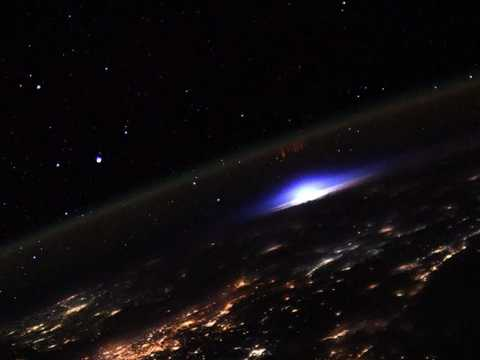 A sprite captured from the ISS.