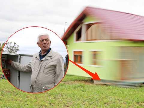 ボジン・クシッチと回転する家。