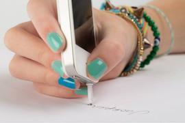 メモするときに困らない、iPhoneと一体化したペン