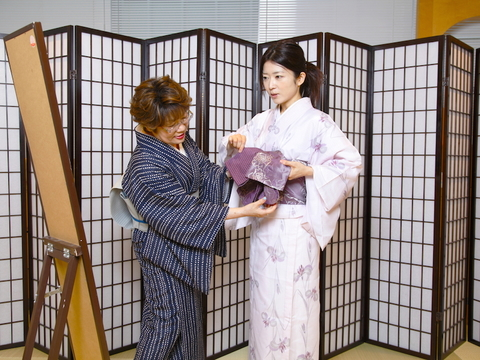#1 さらりと着物をたしなみたい【新連載:女のお稽古道】