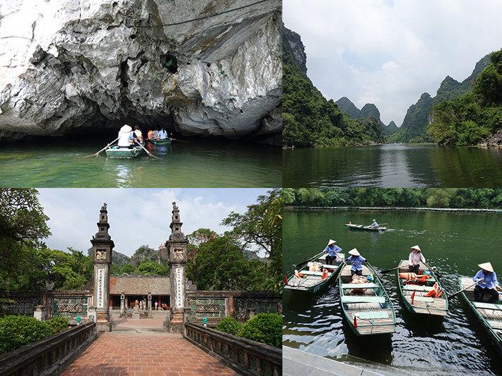 見て、癒しに満ちてる。ベトナム・チャンアンの小舟トリップで五感を研ぎ澄ます