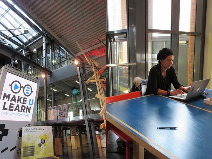 女性起業家が集まり、ビジネスが生まれる、フランスのコワーキングスペース