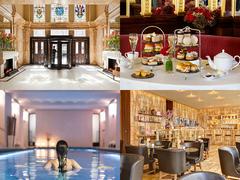 オスカー・ワイルドが愛したカフェも。5つ星ホテルでロンドンの伝統と革新を体感