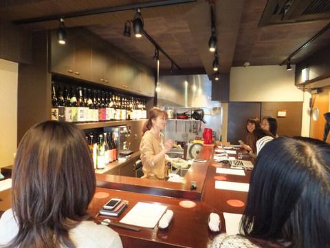 一流企業から飲食店の女将へ。プレミアムフライデーの夜に開かれた独立・経営者セミナー