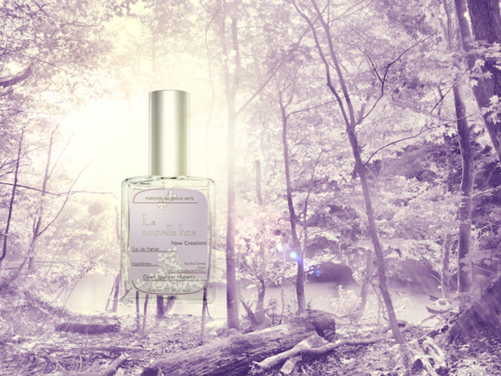 新作は月光の香り。「ダウンパフューム」で、肌に溶け込む香り探し