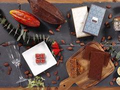 シャンドンの香りが口いっぱいに広がる極上生チョコ