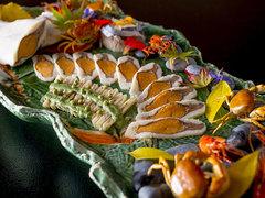 この美しすぎる熟鮨をニューオータニのコラボで