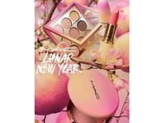 春節を祝いましょう。福を呼ぶ、桃色コレクション
