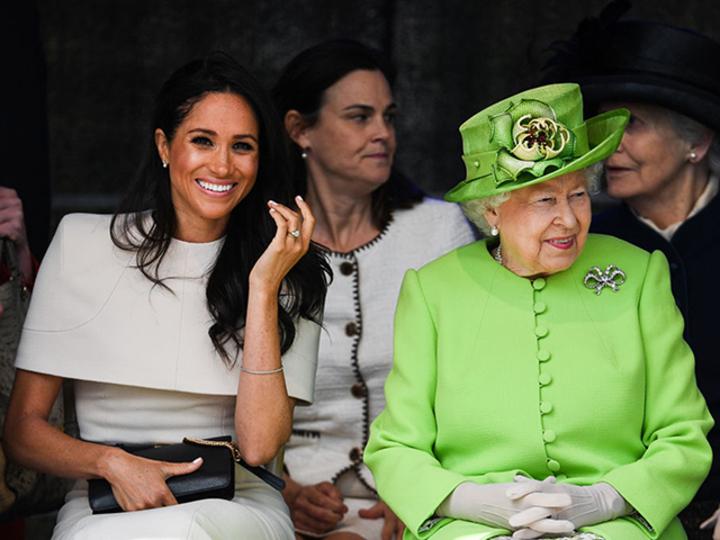 メーガン妃に対するエリザベス女王の気遣い、ほっこりする