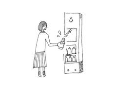 無印良品がオアシスになった。プラスチックごみ削減に向け、給水サービス開始