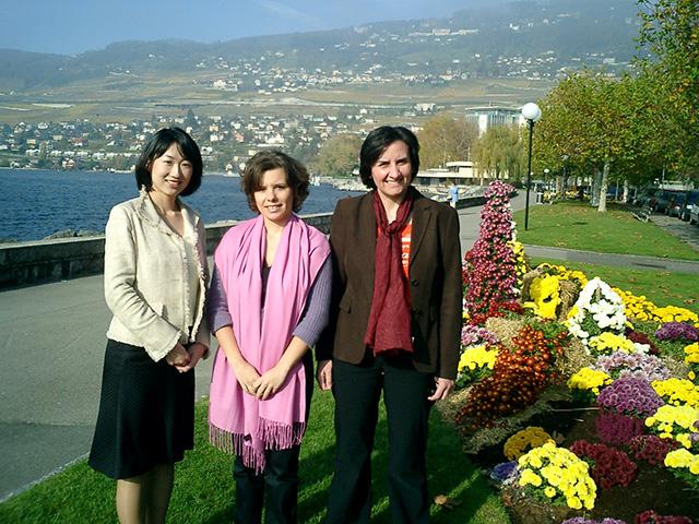 2005年スイス本社時代