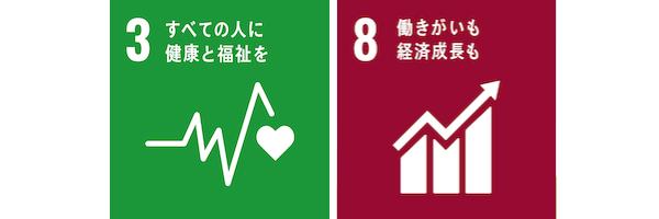 SDGs3&8