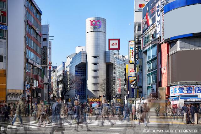 渋谷109の外観